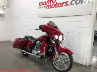 Used 2016 Harley-Davidson CVO Street Glide MINT !!!!  One Owner Low Kms for sale in St. George Brant, ON