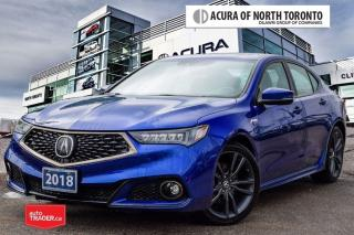 Used 2018 Acura TLX 3.5L SH-AWD w/Tech Pkg A-Spec Accident Free| Remot for sale in Thornhill, ON