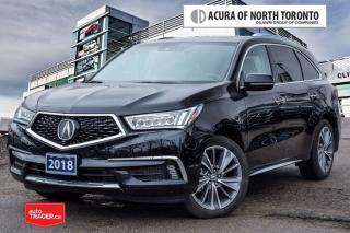 Used 2018 Acura MDX Elite Accident Free| DVD| Remote Start for sale in Thornhill, ON
