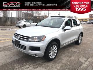 Used 2011 Volkswagen Touareg TDI COMFORTLINE NAVIGATION/PANORAMIC SUNROOF for sale in North York, ON