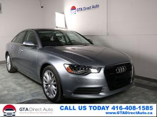 Used 2014 Audi A6 3.0L TDI Technik AWD NAV Sunroof 360CAM Certified for sale in Toronto, ON