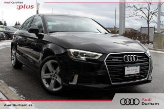 Used 2018 Audi A3 2.0T Komfort + Carplay | Keyless | AWD for sale in Whitby, ON