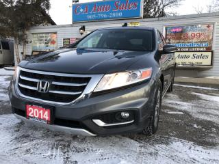 Used 2014 Honda Accord Crosstour 5dr HB EX-L 4WD Navi back up 360 cam accident free for sale in Brampton, ON