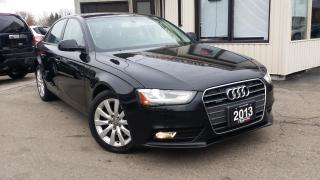 Used 2013 Audi A4 2.0T Premium Sedan quattro Manual for sale in Kitchener, ON