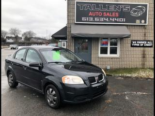 Used 2009 Pontiac G3 Wave for sale in Kingston, ON