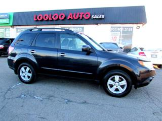 Used 2009 Subaru Forester 2.5X Premium AWD 5 SPD PANORAMIC SUNROOF CERTIFIED for sale in Milton, ON
