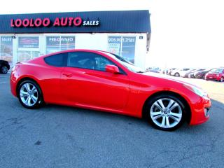 Used 2010 Hyundai Genesis Coupe Coupe 2.0T 6 SPEED TURBO CERTIFIED 2YR WARRANTY for sale in Milton, ON