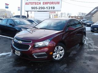 Used 2015 Chevrolet Cruze 1LT Camera/Remote Start/Bluetooth&GPS*$39/Wkly for sale in Mississauga, ON