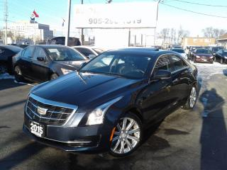 Used 2015 Cadillac ATS Luxury AWD Navigation/Camera/Htd Steering Seats for sale in Mississauga, ON