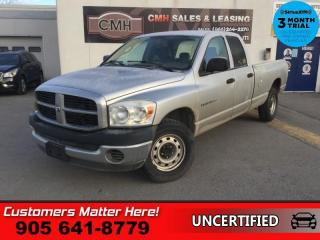 Used 2007 Dodge Ram 1500 ST  AS IS, (UNCERTIFIED), AS TRADED IN for sale in St. Catharines, ON