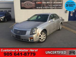 Used 2005 Cadillac CTS Base  AS IS, (UNCERTIFIED), AS TRADED IN for sale in St. Catharines, ON