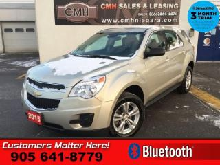 Used 2015 Chevrolet Equinox LS  BT PWR-GRP PWR-SEAT S/W-AUDIO for sale in St. Catharines, ON