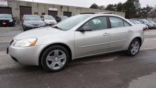 Used 2007 Pontiac G6 2.4l Sedan Auto Sunroof Certified 2Yr Warranty Alloys for sale in Milton, ON