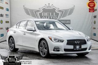 Used 2015 Infiniti Q50 Limited, AWD, NAVI, BACK-UP CAM, SUNROOF, 19 RIMS for sale in Toronto, ON