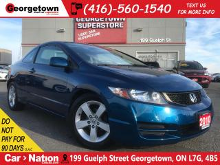 Used 2010 Honda Civic LX SR | COUPE | AUTO | ONE OWNER | SUNROOF for sale in Georgetown, ON