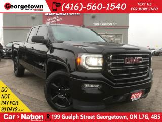 Used 2018 GMC Sierra 1500 ELEVATION | 5.3L| CLEAN CARFAX | TOW PKG | B/U CAM for sale in Georgetown, ON