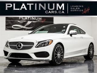 Used 2017 Mercedes-Benz C 300 4MATIC, AMG SPORT, NAVI, PANO, RED LEATHER for sale in Toronto, ON