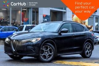Used 2018 Alfa Romeo Stelvio Sport|Pano_Sunroof|SiriusXM|Nav|Backup Cam for sale in Thornhill, ON