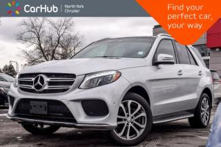Used 2016 Mercedes-Benz GLE 350d|AWD|Diesel|Smartphone.Tech Pkgs|Memory Pkg|19