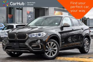 Used 2017 BMW X6 xDrive35i|AWD|Sunroof|Nav|Keyless_Entry|Bluetooth|Heat Frnt.Seats|19