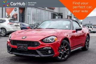 Used 2017 Fiat 124 Spider Abarth|Nav|Backup Cam|Keyless_Entry|Bluetooth|Heat Seats|17