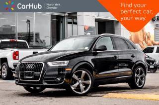 Used 2015 Audi Q3 Technik|AWD|Pano_Sunroof|Blindspot|BOSE|Backup Cam|Nav for sale in Thornhill, ON