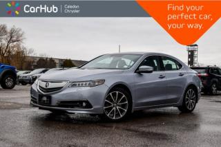 Used 2015 Acura TLX V6 Elite|AWD|Navi|Sunroof|Backup Cam|Bluetooth|Leather|Heated Seat|Blind Spot|18