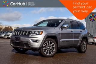 Used 2018 Jeep Grand Cherokee Limited|4x4|Navi|Backup Cam|Bluetooth|R-Start|Leather|Heated Seats|20