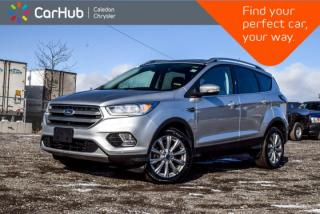 Used 2017 Ford Escape Titanium AWD|Navi|Pano Sunroof|Backup Cam|Blind Spot|Bluetooth|R-Start|18