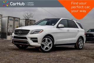Used 2015 Mercedes-Benz ML-Class ML 350 BlueTEC|AWD|Navi|Pano sunroof|Backup Cam|Bluetooth|Leather|19