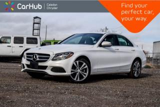 Used 2016 Mercedes-Benz C-Class C 300|4Matic|Bluetooth|Blind Spot|Keyless|Heated Front Seats|17
