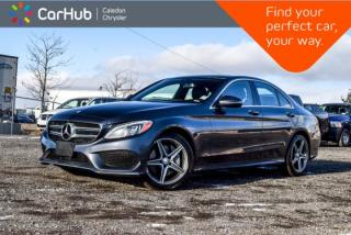 Used 2016 Mercedes-Benz C-Class C 300|4Matic|Navi|Pano Sunroof|Blind Spot|Backup Cam|Bluetooth|Keyless|17