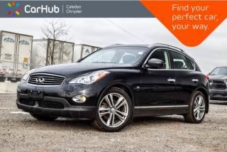 Used 2015 Infiniti QX50 AWD|Navi|Pano Sunroof|Backup Cam|Bluetooth|Leather|Heated Front Seats|17