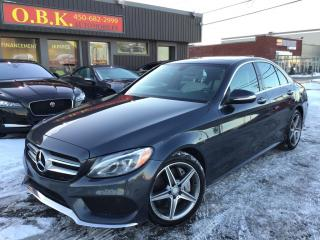 Used 2015 Mercedes-Benz C-Class C400 Awd-Amg Pkg for sale in Laval, QC
