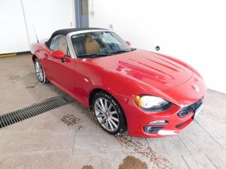 Used 2017 Fiat 124 Spider Lusso *CONVERTIBLE* LEATHER for sale in Listowel, ON