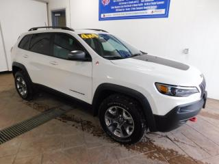 Used 2019 Jeep Cherokee Trailhawk ELITE LEATHER SUNROOF for sale in Listowel, ON