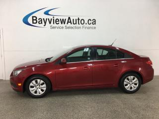 Used 2014 Chevrolet Cruze 1LT - REMOTE START! BLUETOOTH! ONSTAR! CRUISE! A/C! for sale in Belleville, ON