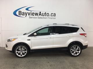 Used 2015 Ford Escape Titanium - ECOBOOST! HTD SEATS! REMOTE START! SYNC! NAV! ALLOYS! for sale in Belleville, ON