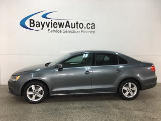 Used 2014 Volkswagen Jetta 2.0 TDI Comfortline - SUNROOF! HTD SEATS! BLUETOOTH! A/C! CRUISE! ALLOYS! for sale in Belleville, ON