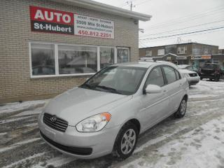 Used 2009 Hyundai Accent L ** AUTO / 114 000 KM ** for sale in St-Hubert, QC