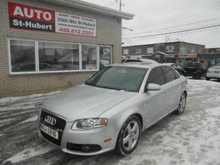 Used 2008 Audi A4 2.0T S-LINE for sale in St-Hubert, QC