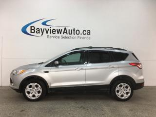 Used 2014 Ford Escape - SYNC! REVERSE CAM! HTD SEATS! PWR LIFTGATE! KEYPAD! for sale in Belleville, ON