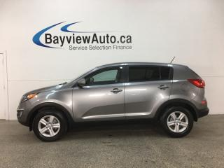 Used 2015 Kia Sportage LX - 6SPD! HTD SEATS! BLUETOOTH! ALLOYS! for sale in Belleville, ON