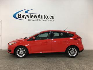 Used 2017 Ford Focus - SYNC! REVERSE CAM! HTD SEATS! ALLOYS! for sale in Belleville, ON