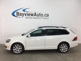 Used 2013 Volkswagen Golf 2.0 TDI Highline - PANOROOF! HTD LTHR! BLUETOOTH! A/C! CRUISE! for sale in Belleville, ON