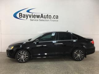 Used 2013 Volkswagen Jetta 2.0 TDI Highline - HTD LTHR! SUNROOF! PUSH START! BLUETOOTH! ALLOYS! for sale in Belleville, ON