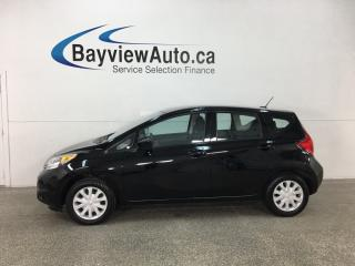 Used 2015 Nissan Versa Note 1.6 SV - 5SPD! BLUETOOTH! REVERSE CAM! NISSAN CONNECT! for sale in Belleville, ON
