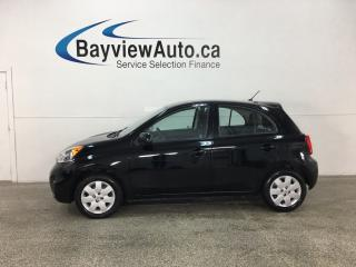 Used 2016 Nissan Micra SV - BLUETOOTH! CRUISE! A/C! PWR GROUP! for sale in Belleville, ON