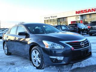 Used 2015 Nissan Altima 2.5 SV w/NAV,climate control,heated seats,pwr sunroof,rear cam for sale in Cambridge, ON