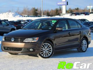 Used 2012 Volkswagen Jetta 2.0 TDI Highline HEATED LEATHER | SUNROOF for sale in Fredericton, NB